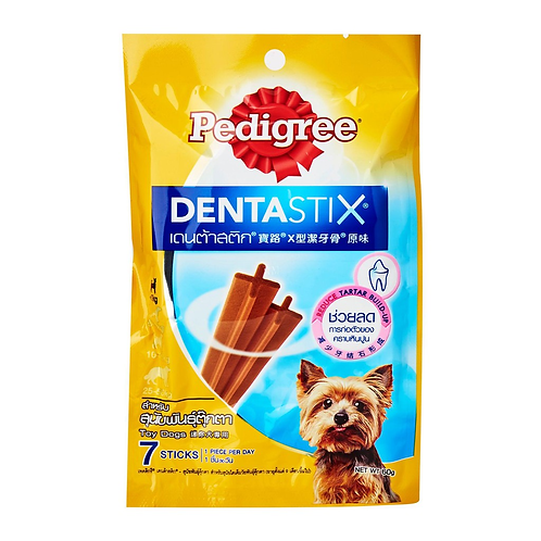 Pedigree Dentastix Toy 60G (Minimum order of 4 Packs)