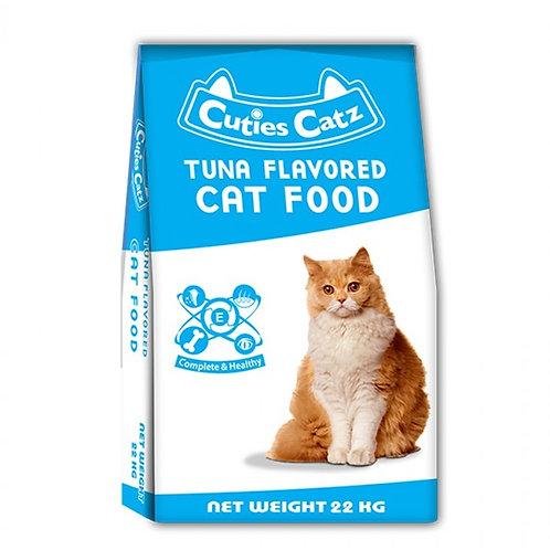 Cuties Catz Tuna 22KG
