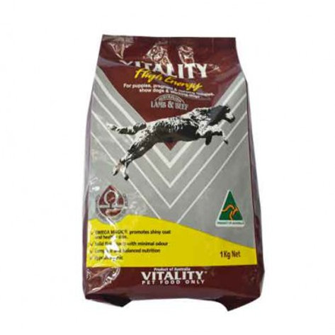 Vitality High Energy Lamb & Beef 15KG