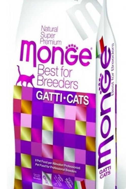 Monge - Adult Cat - Breeder's Bag 10KG (ONE day advance ordering)
