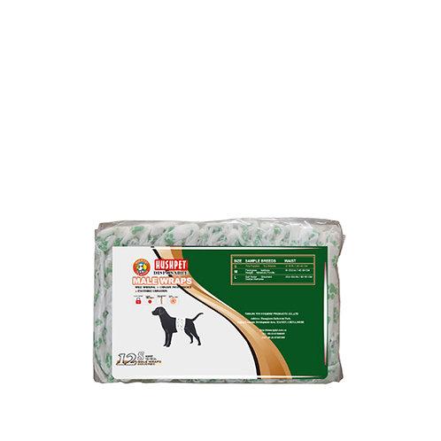 Pet Male Diaper 12's  (Small)
