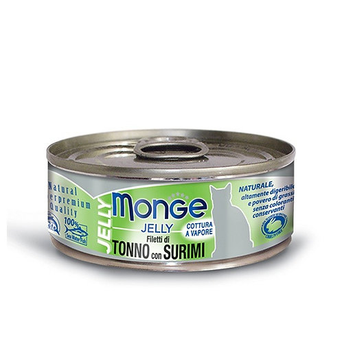 Monge Jelly Tuna with Surimi 80G (ONE day advance ordering)