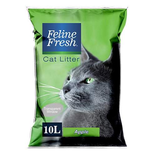 Feline Fresh Cat Litter 10 Liters (Apple)