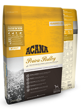 Acana Prairie Poultry for Puppies and Adult Dogs of All Breeds 11.4KG