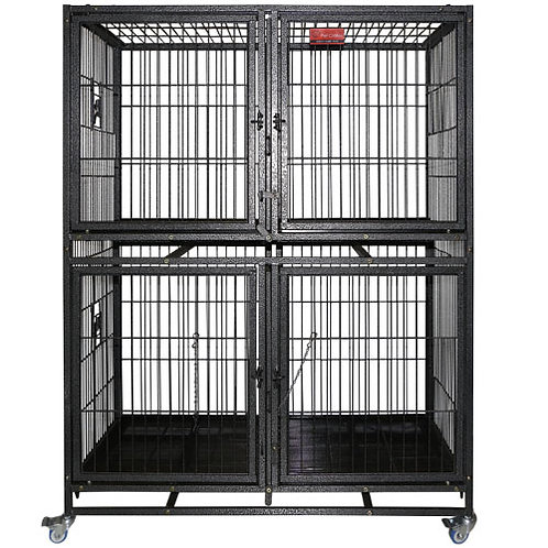 D192-4 Dog Cage 2 Layer w/ 4Doors