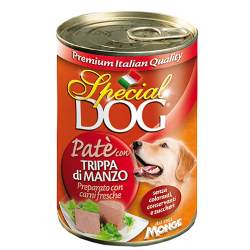 Special Dog Pate with Beef Tripe 400G
