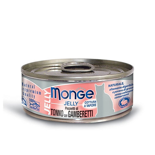 Monge Jelly Tuna with Shrimp 80G (ONE day advance ordering)