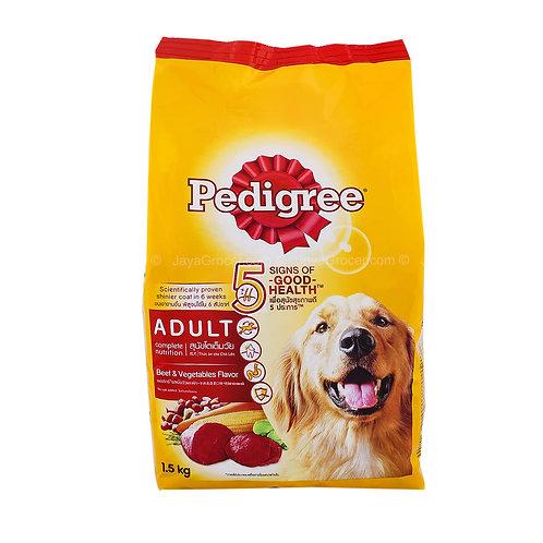 Pedigree Beef & Vegetable 1.5KG