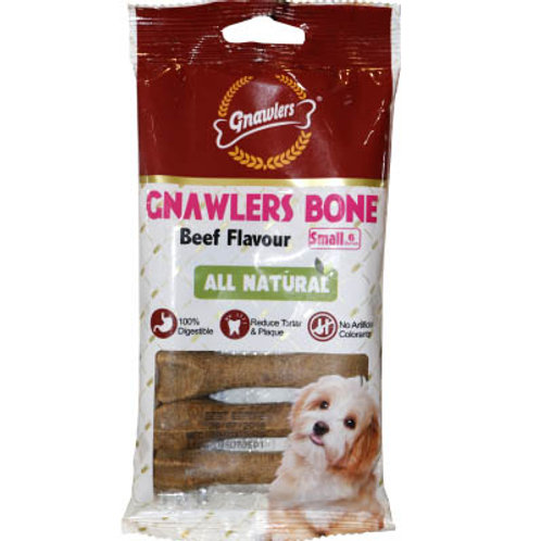 "Gnawlers Dental Care 4.5"" Beef (ONE day advance ordering)"
