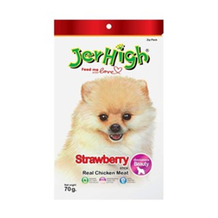 Jerhigh Treats - Strawberry (ONE day advance ordering)