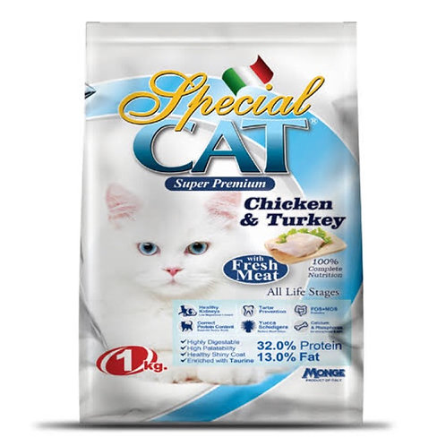 Special Cat Chicken & Turkey 7KG