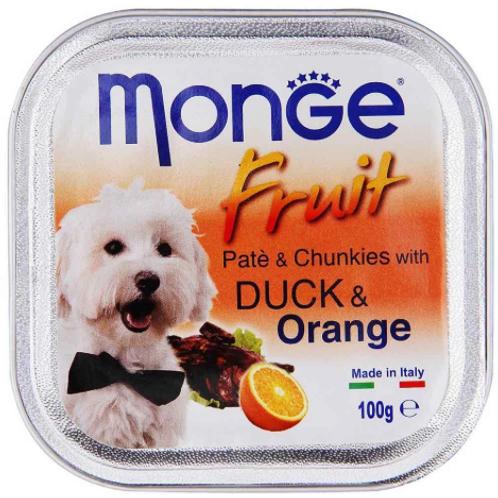 Monge Fruit Duck/Orange 100G (ONE day advance ordering)