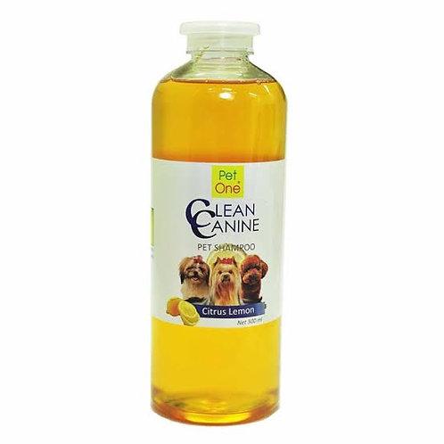 Pet One Clean Canine Citrus Lemon 500ml