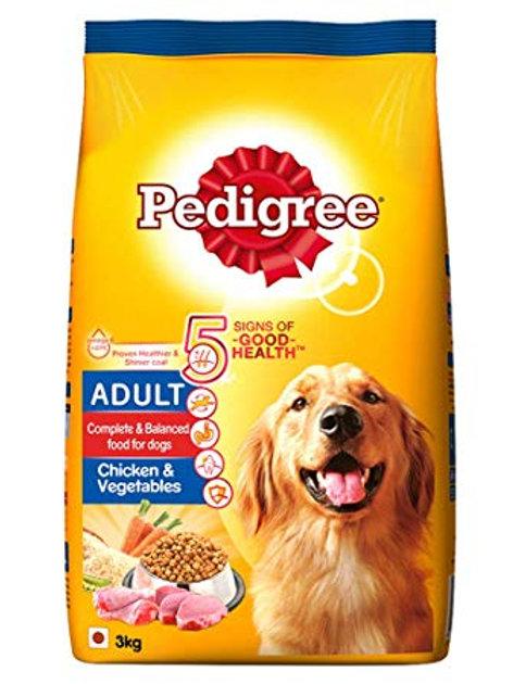 Pedigree Chicken & Vegetable 3KG
