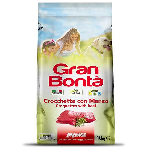 Gran Bonta Adult Dog Food Beef 10KG