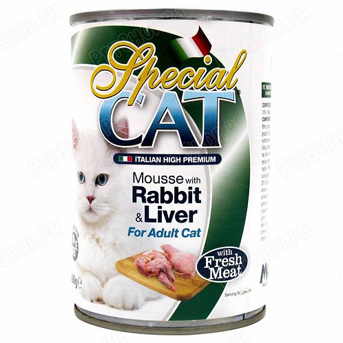 Special Cat Rabbit & Liver 400G (24pcs)
