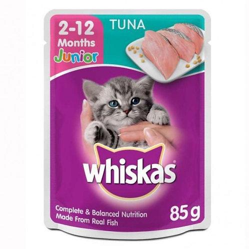 Whiskas Jr. Tuna 85G (Minimum order of 4 Packs)