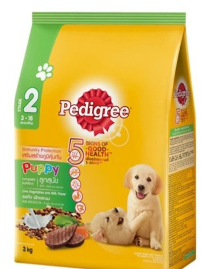 Pedigree Puppy Liver & Milk 3KG