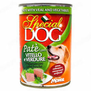 Special Dog Pate with Veal and Vegetables 400G