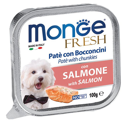 Monge Fresh Salmon/Salmone 100G (ONE day advance ordering)
