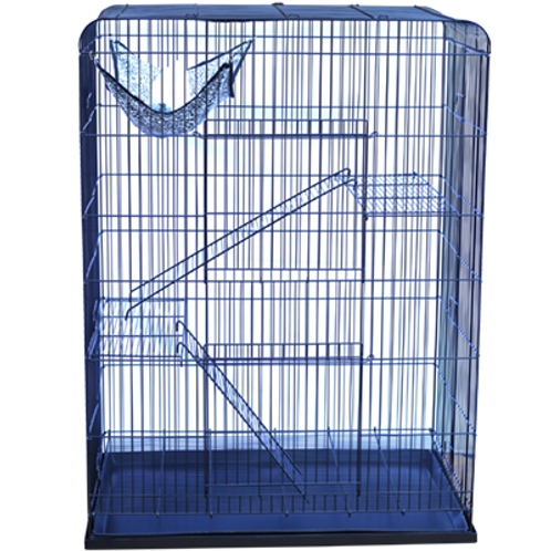 Cat Cage 3 Layers with Wire Flooring