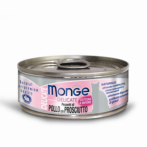 Monge Delicate Chicken with Ham 80G  (ONE day advance ordering)
