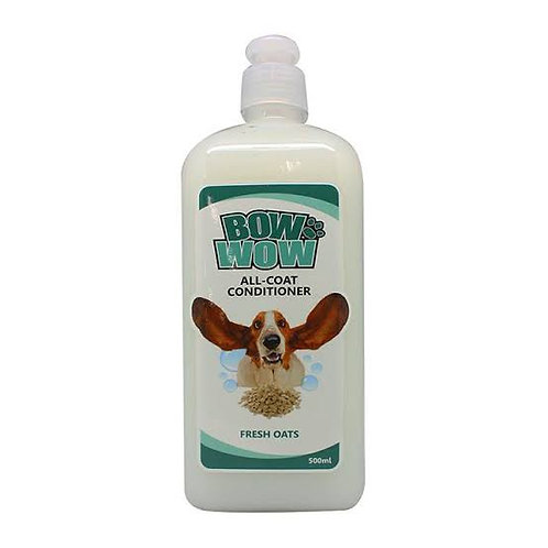 Bow Wow All Coat Conditioner Fresh Oats 500ML
