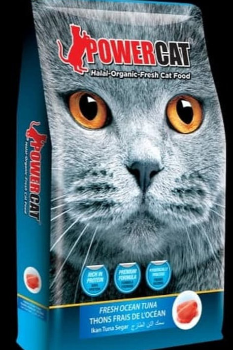 Powercat Fresh Ocean Tuna 8KG
