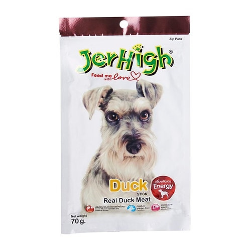 Jerhigh Treats - Duck Stick 70G (ONE day advance ordering)