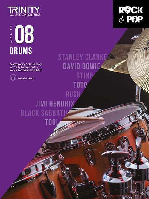 Trinity College London Rock & Pop 2018 Drums Grade 8 (Drums)