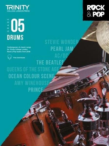 Trinity College London Rock & Pop 2018 Drums Grade 5 (Drums)