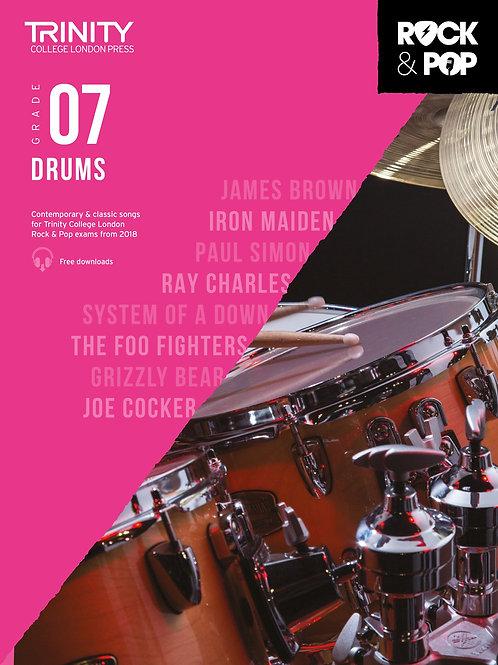 Trinity College London Rock & Pop 2018 Drums Grade 7 (Drums)