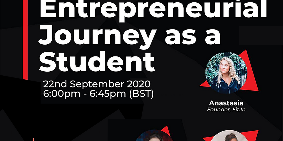 Behind the Scenes: Starting Entreprenurial Journey as a Student