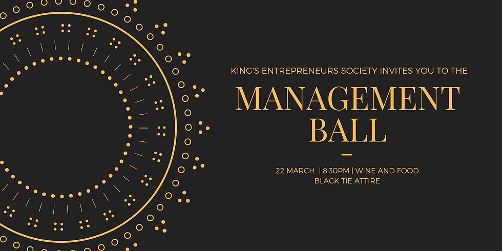 KCL Management Ball