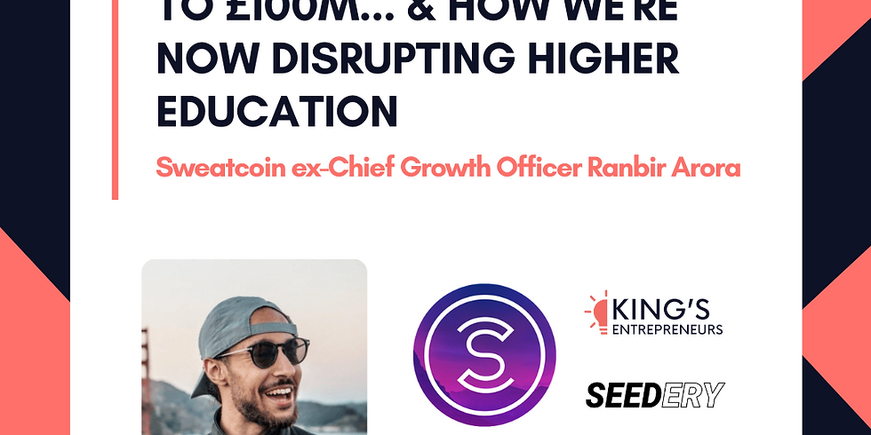 How we grew Sweatcoin to £100m...