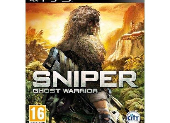 Sniper Ghost Warrior para PS3 (DESTAPADO)