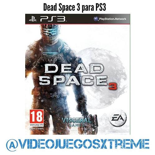 Dead Space 3 para PS3 (DESTAPADO)