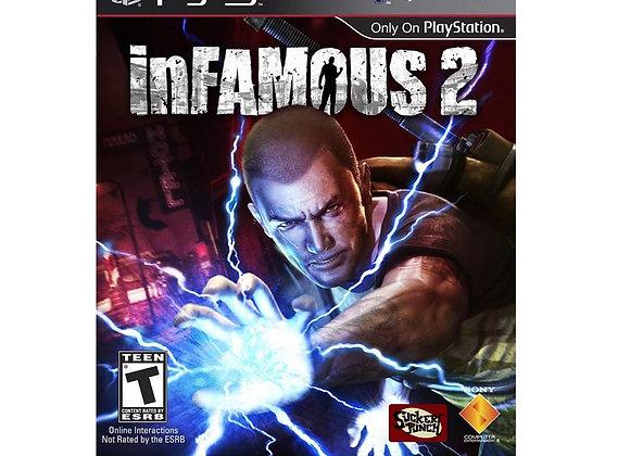 inFAMOUS 2 para PS3 (DESTAPADO)