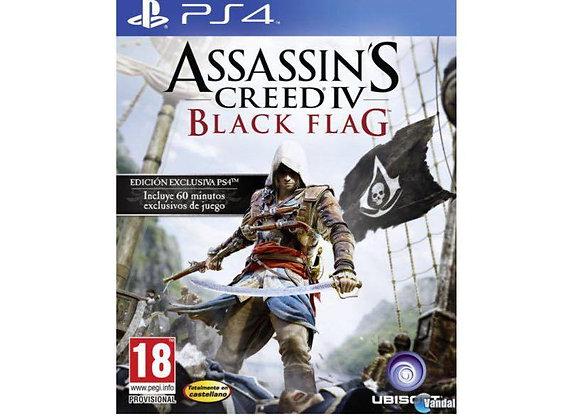 Assassin's Creed IV Black Flag PS4 (DESTAPADO)