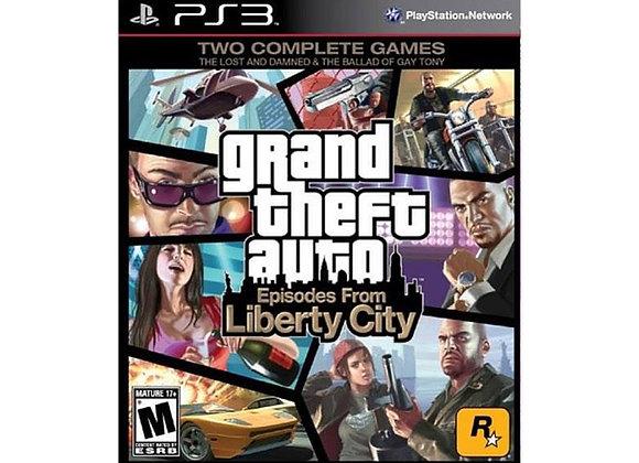 GTA Liberty City para PlayStation 3 (DESTAPADO)