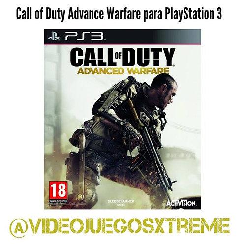 Call of Duty Advanced Warfare para PS3 (DESTAPADO)