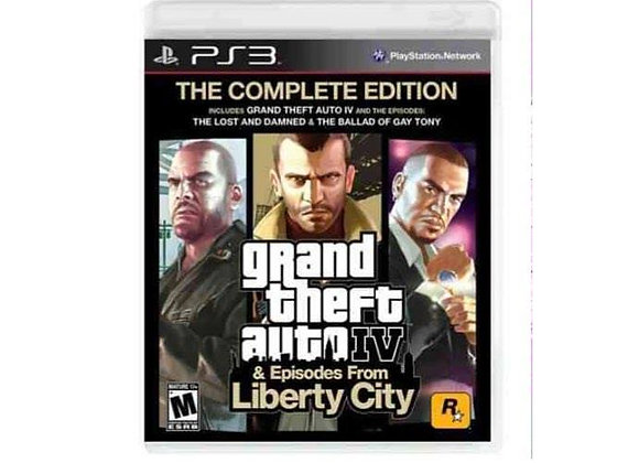 GTA IV & Liberty City para PS3 (DESTAPADO)