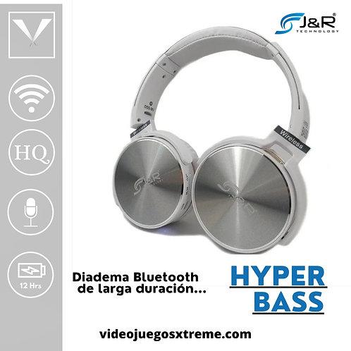 Diadema Hyper Bass Blanca