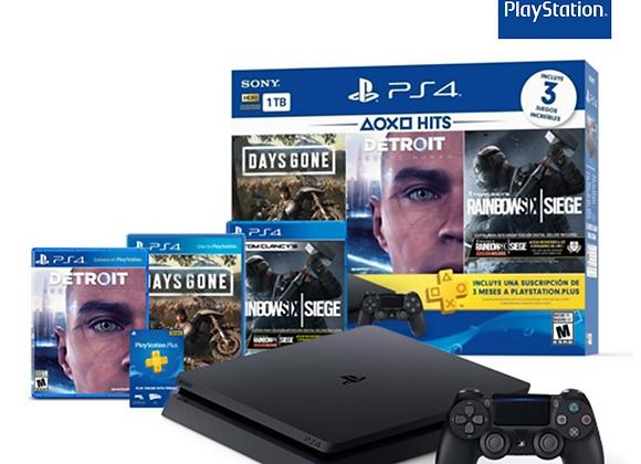 PS4 DaysGone Detroit y Rainbowsix
