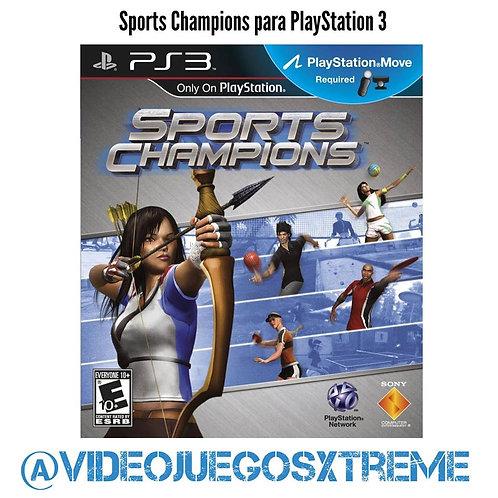 Sport Champions para PS3 (DESTAPADO)