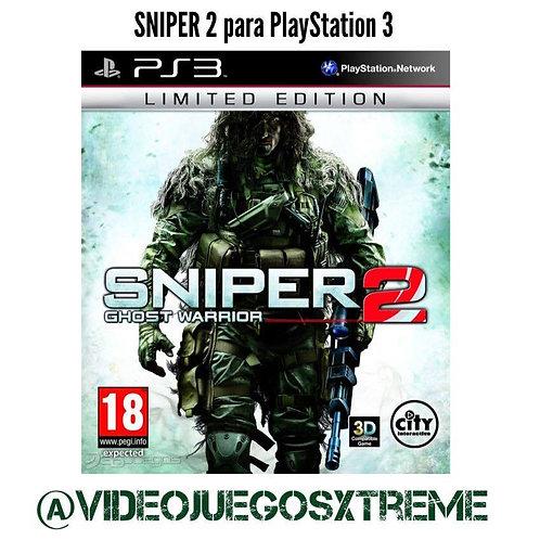 SNIPER Ghost Warrior 2 para PS3 (DESTAPADO)