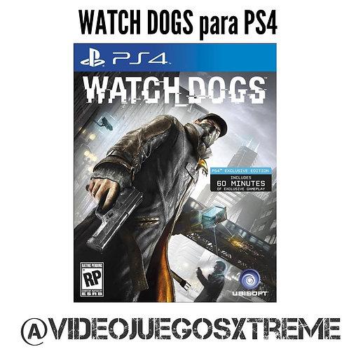 Watch Dogs para PS4 (DESTAPADO)