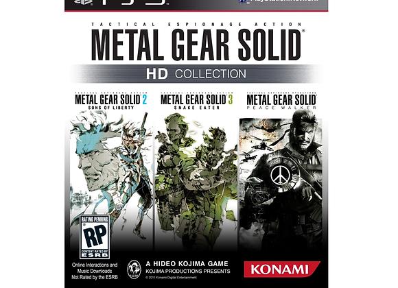 Metal Gear Solid HD Collection PS3 (DESTAPADO)