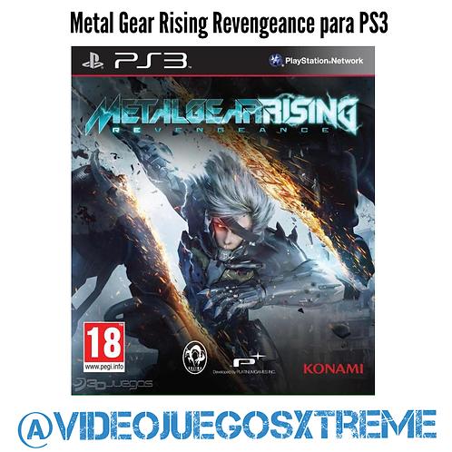 Metal Gear Rising Para PS3 (DESTAPADO)