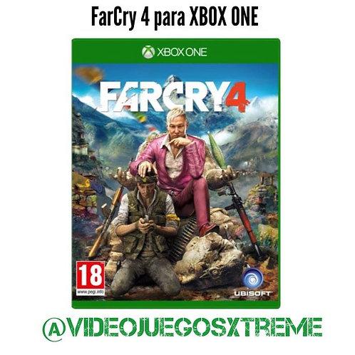 Farcry 4 para XBOX ONE (DESTAPADO)